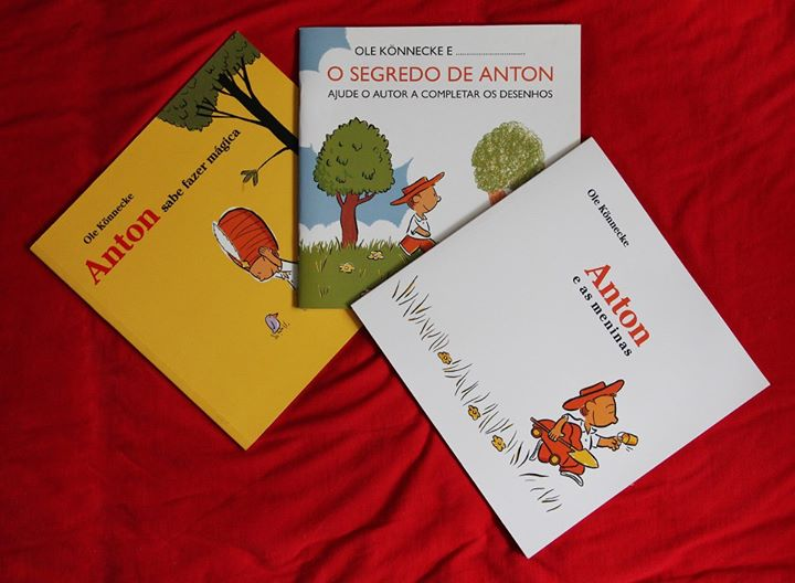3 Livros de Anton
