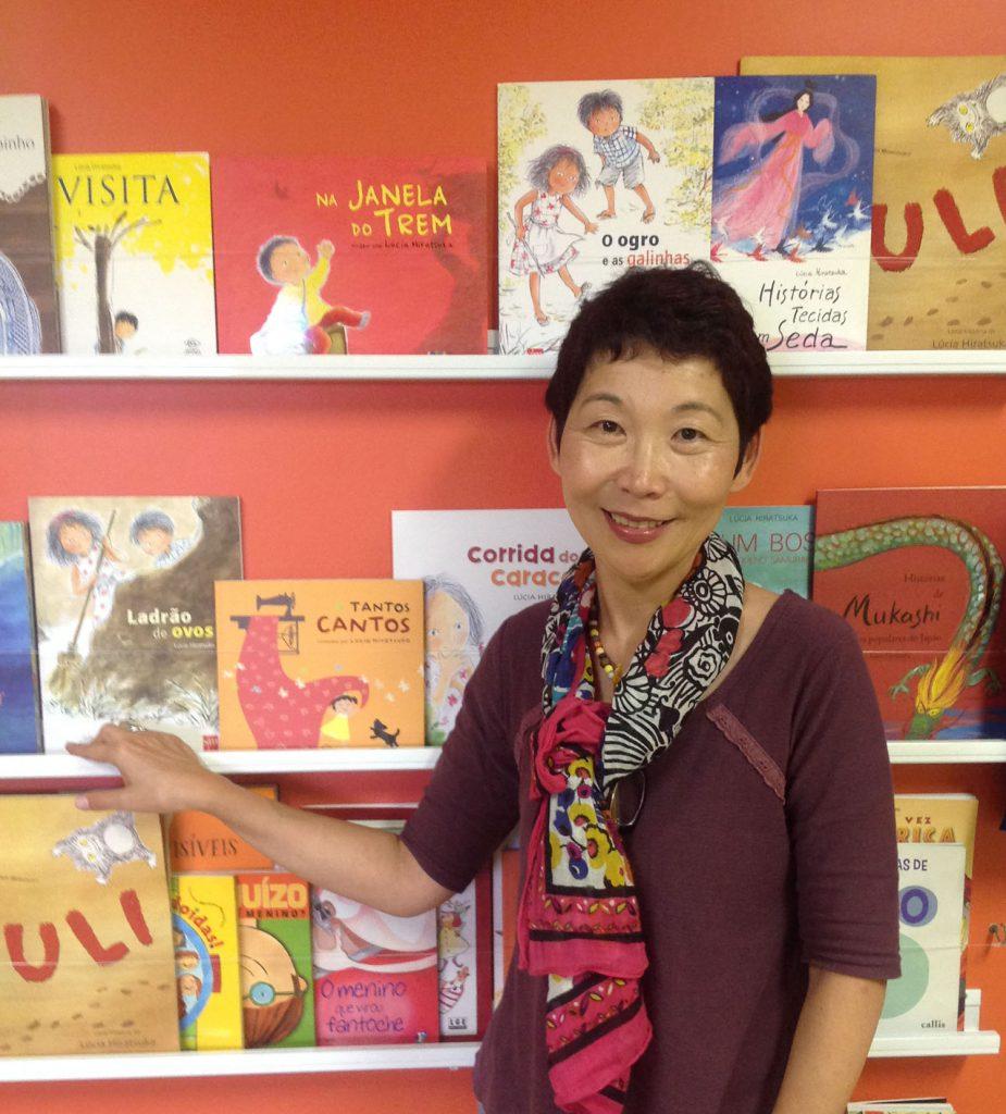 foto tirada pelo escritor e mediador de leitura Tino Freitas, quando a autora visitou a ong Roedores de Livros