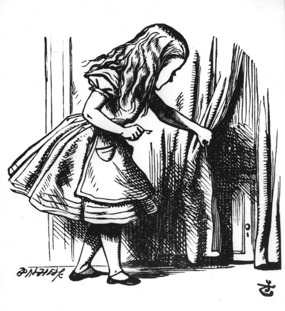 A mais famosa, a original: a Alice de John Tenniel